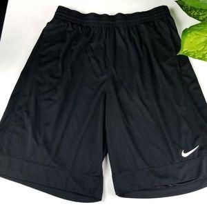 Nike Knee-Length Shorts Black Mens XL